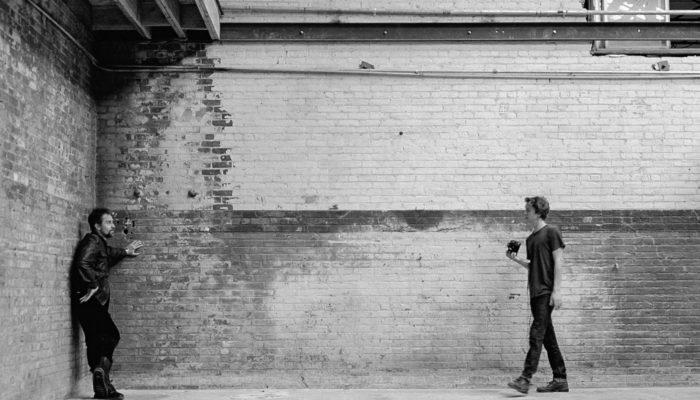 Behind the Scenes, Sam Rockwell & Thomas Mann