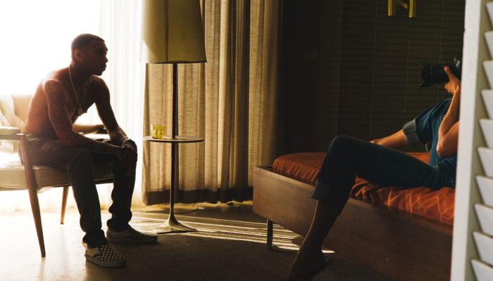 Behind the Scenes, Tyga & Helena Christensen
